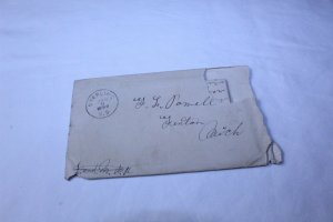 Vintage 1899 Hand Written 12 Page Letter in Original Envelope