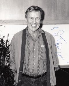 William Gaunt A Gentlemans Club BBC Television Launch Hand Signed Press Photo