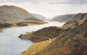 Thirlmere Reservoir @ Helvellyn Mountain-Ambleside~Road Around Forest c1910