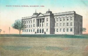 Kearney Nebraska~University State Normal School & Grounds~1910 Suhling Postcard