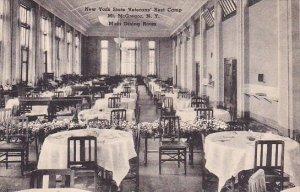 New York Mount Mcgregor New York State Veterams Rest Camp Mess Hall Albertype