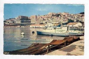 RP  Bougie, Vue sur le port et la ville, 40s