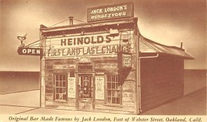 Jack London's Rendezvous Webster Street Oakland, CA, USA Brewery Unused