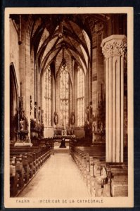 Interieur de la Cathedrale,Thann,France BIN