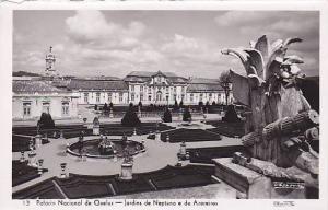RP; Palacio Nacional de Quebec, Jardins de Neptuno e de Azereiros, Lisboa, Po...