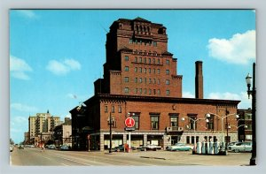 Gary IN, Knights Of Columbus Building, Chrome Indiana Postcard