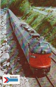 Amtrak's Coast Starlight Train Between Seattle and Los Angeles