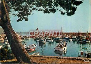 Modern Postcard Ile d'Oleron (Charente Maritime) The Port of Cotiniere Fishin...