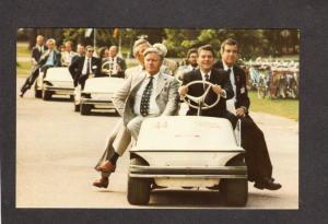 President Ronald Reagan Ottawa Golf Cart Helmut Schmidt German Canada Ontario