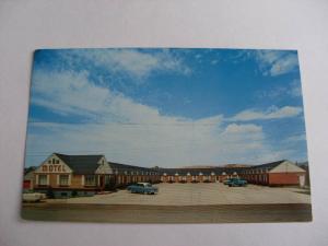 1960's New Motel Evanston Wyoling Wy Postcard y6859