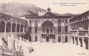 Cour d'Honneur, Palais Du Prince, Monaco, 1900-1910s