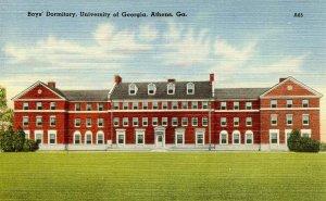 GA - Athens. University of Georgia, Boys Dormitory