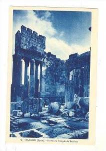 BAALBEK (Syrie)  Parvis du Temple de Bacchus 00-10s
