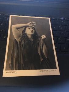 Vtg Postcard: Magdalena, Gropper Gabriele