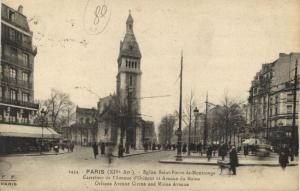 CPA Paris 14e (Dep.75) - 1434. Eglise Saint-Pierre-de-Montrouge (56503)
