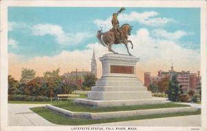 Lafayette Statue, FALL RIVER, Massachusetts, PU-1931