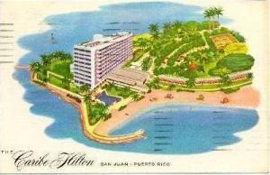Caribe Hilton, San Juan. Puerto Rico, PU-1958