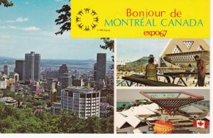 MONTREAL, Quebec, Canada  Expo67 Bonjour de Montreal, Canada