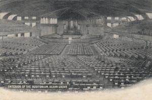 OCEAN GROVE , New Jersey, 00-10s; Interior of the Auditorium