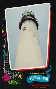 FENWICK ISLAND , Delaware, 50-60s ; Lighthouse