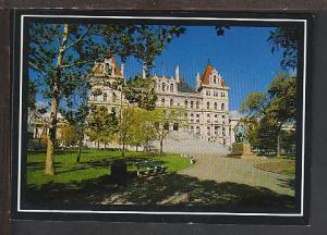 State Capitol Albany NY Postcard BIN