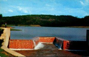 Pennsylvania Butler Spillway At Oneida Dam
