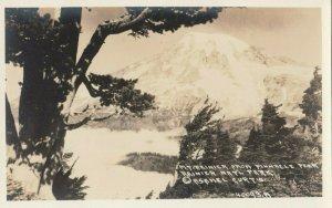 RP: Rainier National Park, Washington, 1910-30s ; Pinnacle Peak View