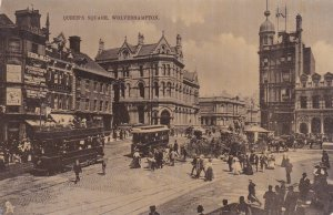 WOLVERHAMPTON , Staffordshire , England, 1905 ; Queen's Square ;  TUCK