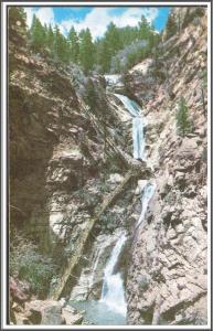 Colorado Famous Seven Falls Postcard