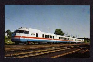 NY Amtrak Railroad Turbo Train NEW YORK BUFFALO Albany