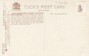 Titania's Palace , UK, 1900-10s ; Bedchamber ; TUCK 4521