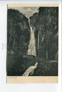 424428 PORTUGAL MADEIRA waterfall Reds Mount Park Hotel Vintage postcard