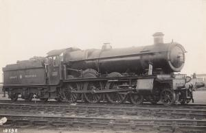 Great Western 1958 Train Antique Real Photo Postcard