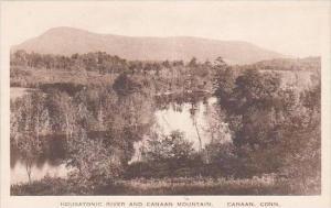Connecticut Canaan Housatonic River And Canaan Mountain Albertype