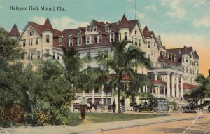 MIAMI , Florida , 1913 ; Halcyon Hall