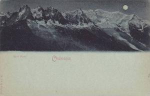 Night Scene, Mont Blanc, Chamonix (Haute Savoie), France, 1900-1910s