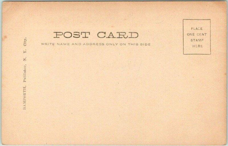 Vintage 1900s RPPC Real Photo Postcard ORPHANS Children at Gravesite Unused
