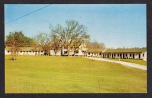 NC Sheridan Arms Motel RALEIGH NORTH CAROLINA POSTCARD