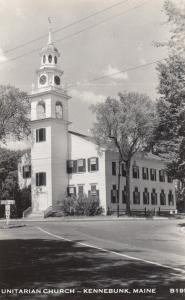 RP: KENNEBUNK , Maine, 1950s ; Unitarian Church