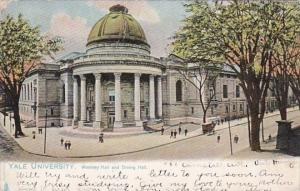 Connecticut New Haven Woolsey Hall and Dining Hall Yale University 1905 Tucks