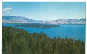 USA, Flathead Lake, Montana, unused Postcard