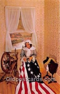 Betsy Ross 1752-1836 Philadelphia, PA Postcard Post Card Philadelphia, PA Bet...