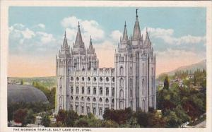 Utah Salt Lake City The Mormon Temple