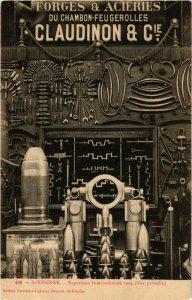 PC CPA EXPOSITION, ST ETIENNE 1904, FORGES & ACIÉRIES, (b13810)