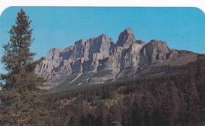 Mount Eisenhower, Castle Mountain, Gen. Dwight Eisenhower, Banff-Lake Louise ...