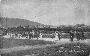H77/ Chester West Virginia Postcard c1910 Rock Springs Amusement Park 238