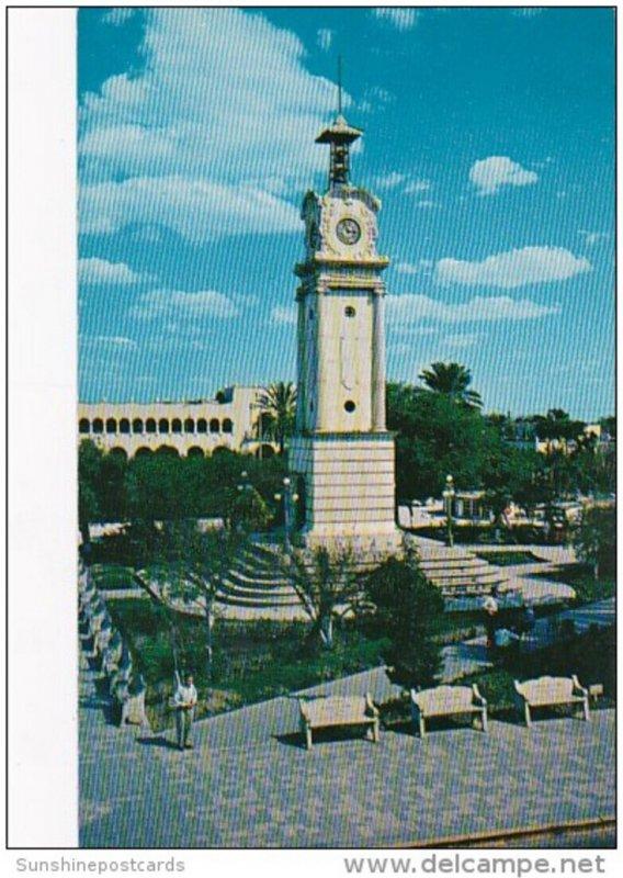 Mexico Nueva Laredo Portion Of The Main Plaza