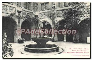 Postcard Old Toulouse Petit Musee Cloitre