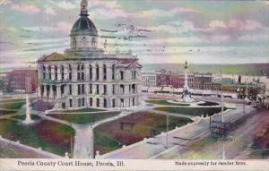 Illinois Peoria County Court House 1919