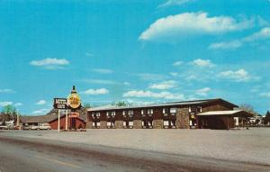 BIG TIMBER, MT Montana  FRYE'S CAFE & MOTEL  Sweet Grass Co  ROADSIDE  Postcard